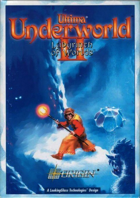 Ultima Underworld 2 - Cover
