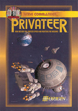 Wing Commander: Privateer - Packshot CD-ROM-Edition