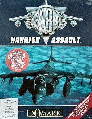 AV-8B Harrier Assault - Cover