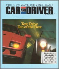 Car & Driver - Cover