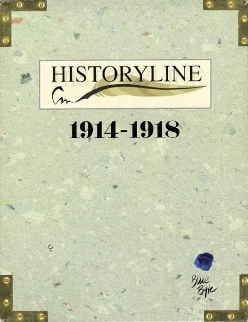 Historyline 1914-1918 - Cover