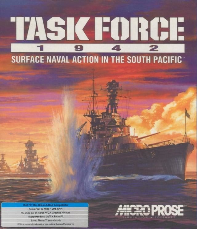 Task Force 1942 - Cover
