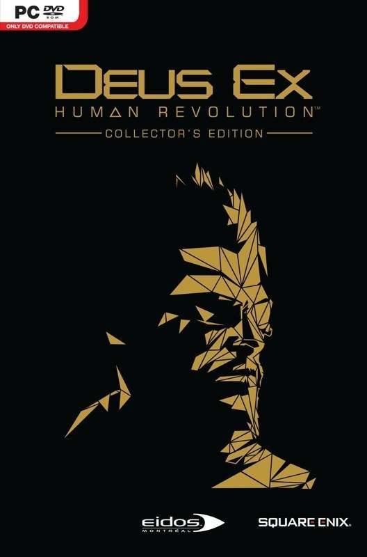 Deus Ex: Human Revolution Collector's Edition - Packshot Windows PC