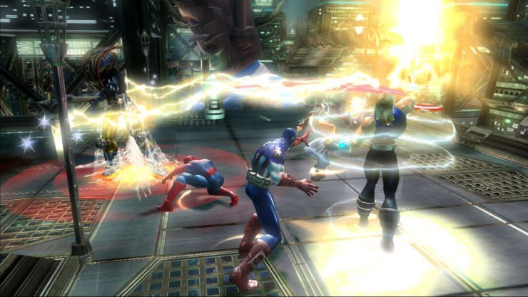 Marvel: Ultimate Alliance - Screenshot