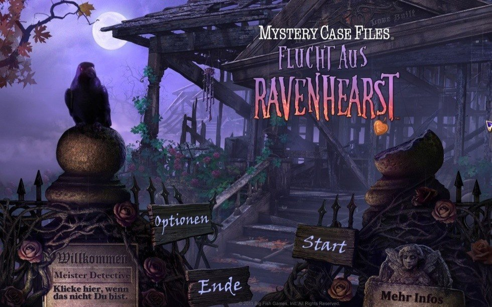 Mystery Case Files: Flucht aus Ravenhearst