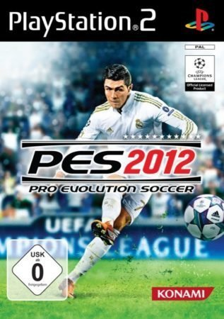 PES 2012 – Cover PS2